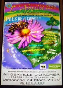 ÉVÉNEMENT : l'abeille écolo le 24 mars