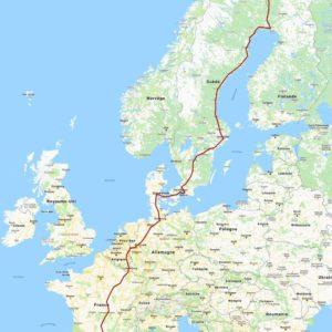 L'Europe à pieds pour ramasser les déchets
