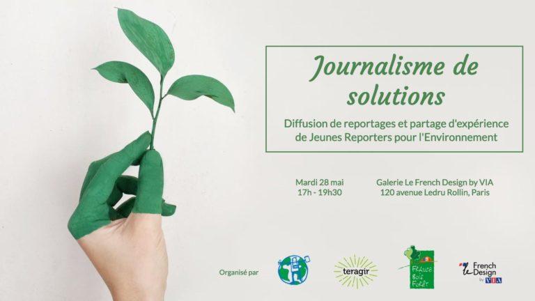 Les Jeunes Reporters pour l'Environnement, la future génération de reporters arrive !
