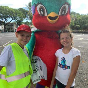 Plogging des Éco-Kids du Fénua : joli succès !