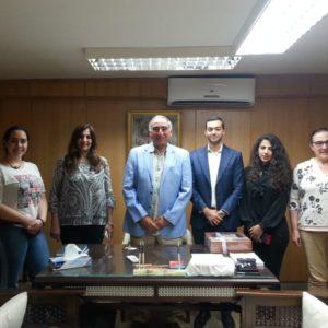 Ambassadrice Nazli, Goclean et le Sporting Club