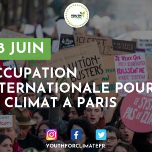 Communiqué de Youth for Climate : occupation du 28 juin à Paris