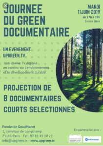Upgreen TV – Journée du Green Documentaire