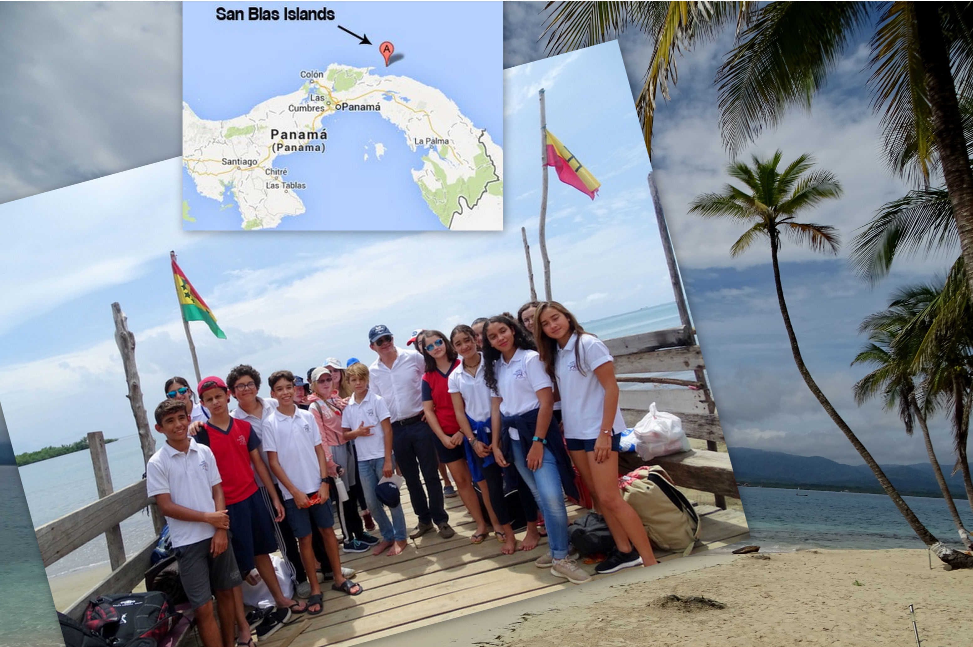 Meva: pick-up in San Blas Islands