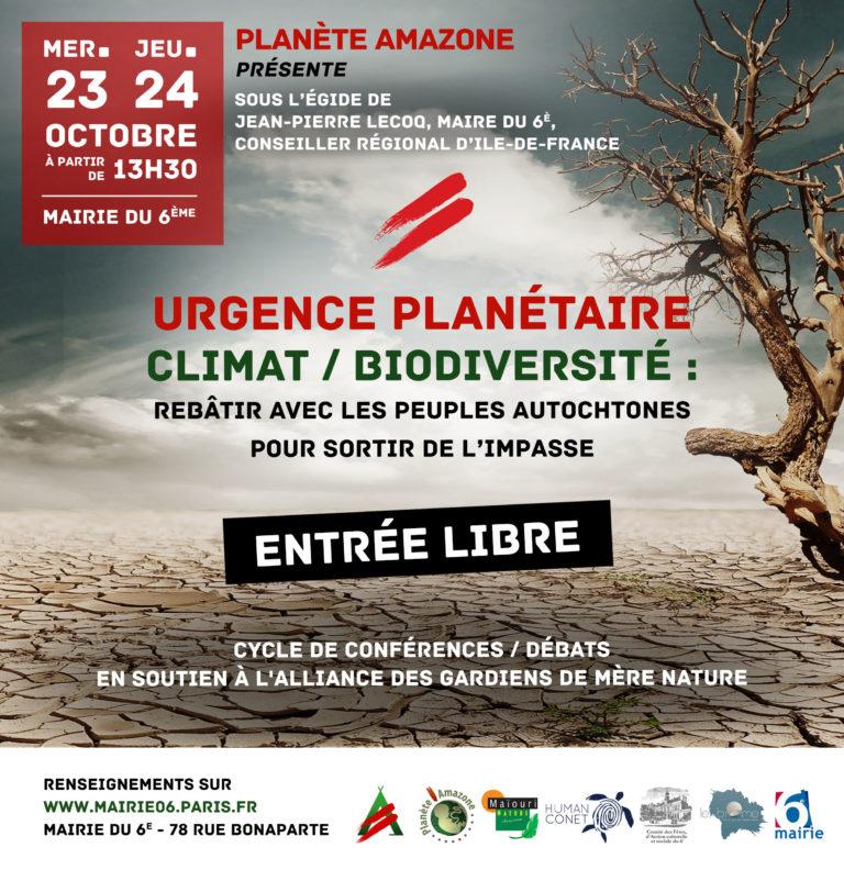URGENCE PLANÉTAIRE CLIMAT / BIODIVERSITÉ