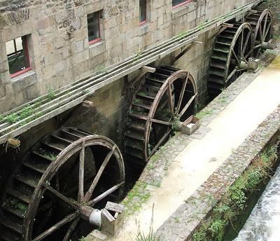 Roues de moulin