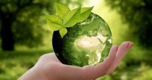 Goutte Terre et main