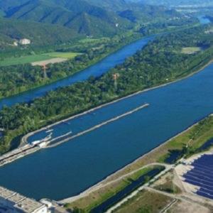 Aménagement fluvial à buts multiples : exemple du Rhône
