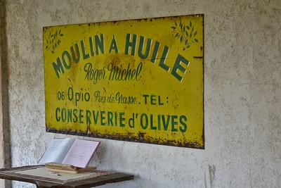 Affiche moulin à huile