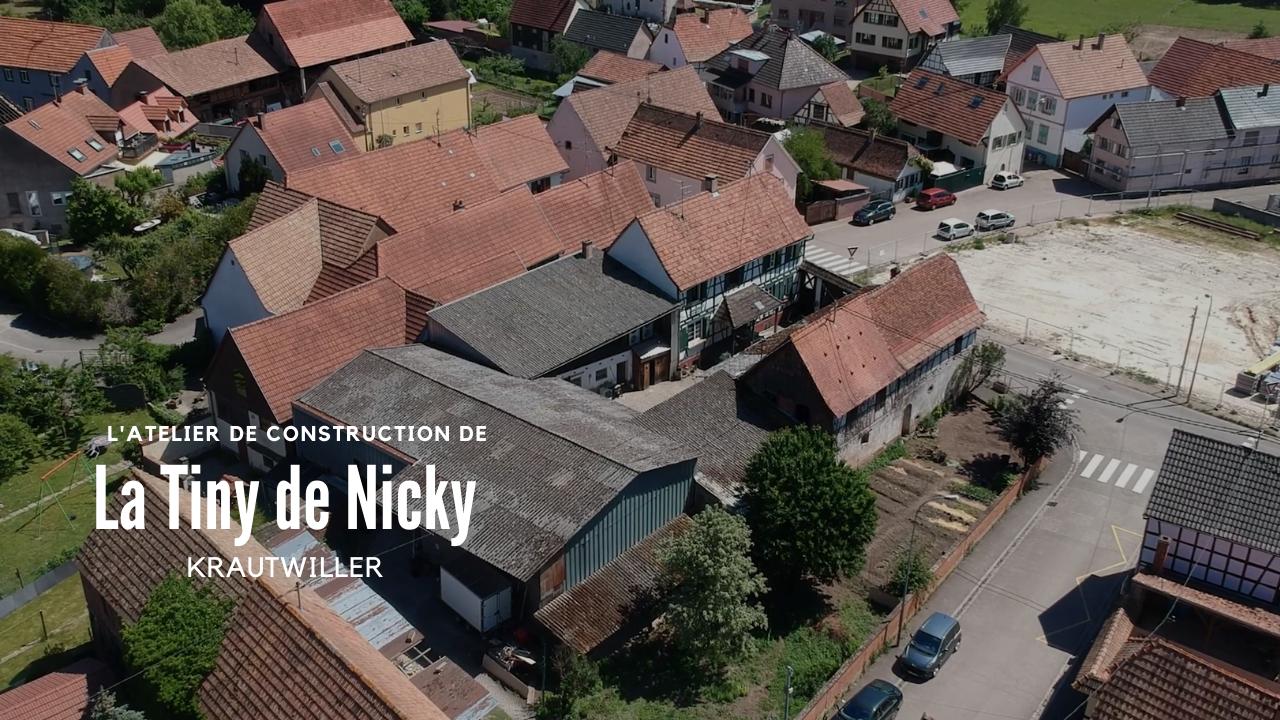 La tiny de Nicky # 3 – Lieu de construction