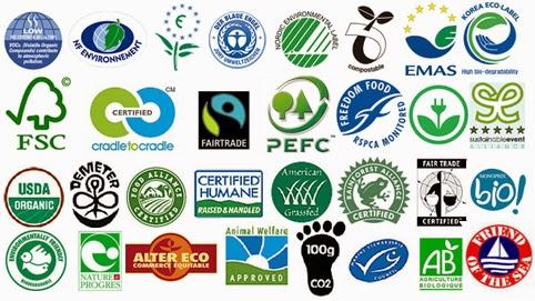 Logos des ecolabels