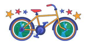 La bicyclette de Baptiste image