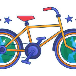 Baptiste's bicyle