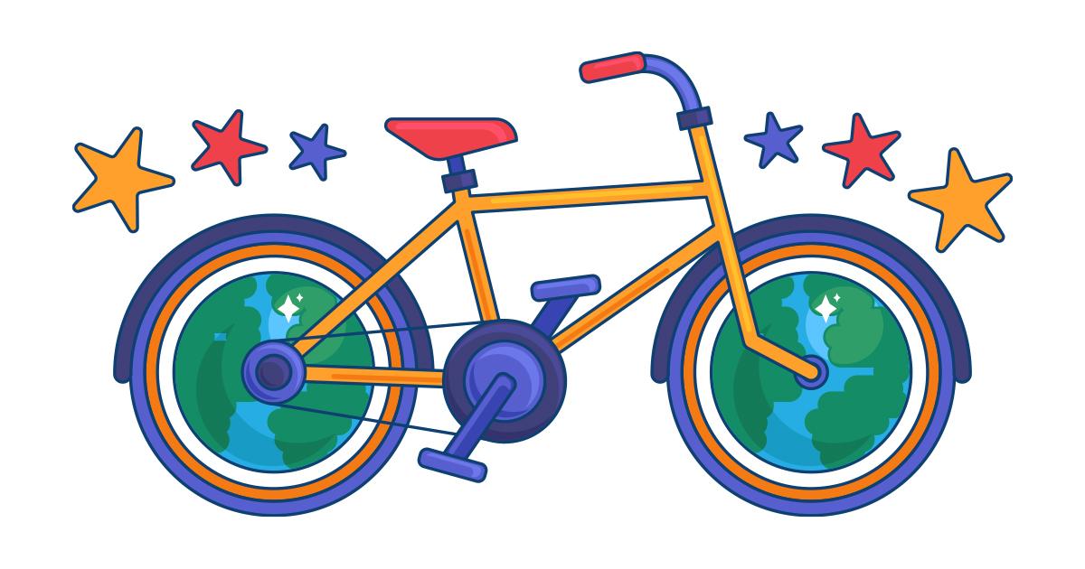 La bicyclette de Baptiste