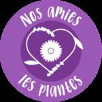 Picto violet nos amies les plantes