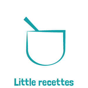 Picto bleu little recettes