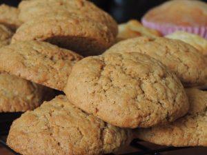 Biscuits avec des reines des prés