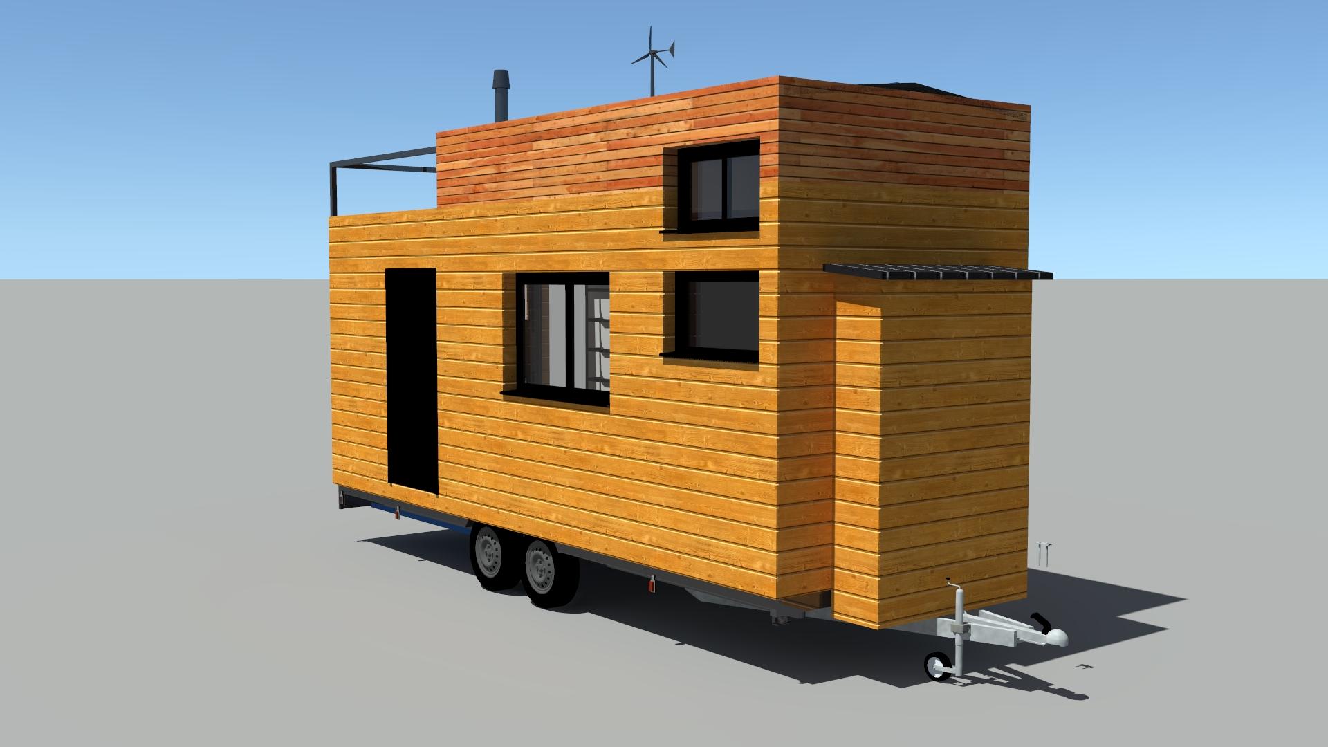 La tiny de Nicky # 6 – Modélisation 3D