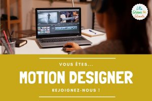 Recrutement de motion designer