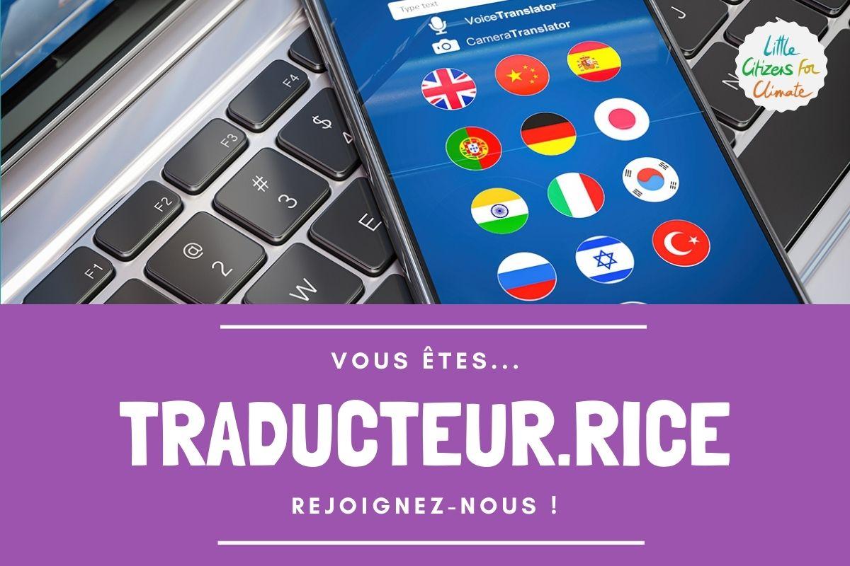 Traducteur.rice multilingue
