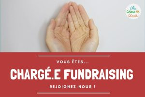 Recrutement de chargé.e de fundraising