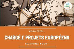 Recrutement de chargé.e de projets Européens