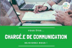 Recrutement de chargé.e de communication