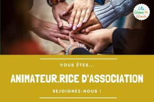 Recrutement d'animateur.rice de vie associative