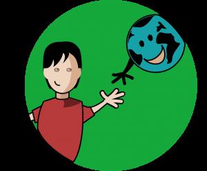 Pictogramme enfant Little et Terre