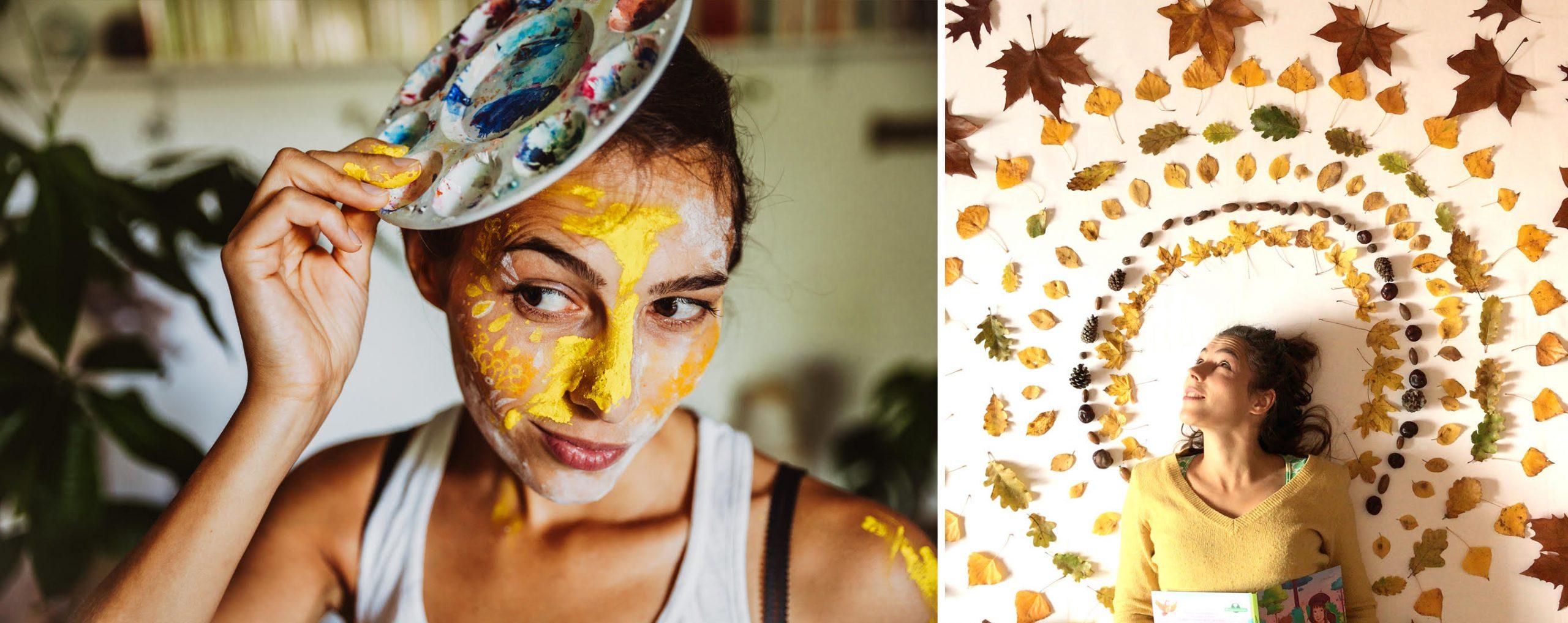 L'univers de Justine : écolo, graphiste et illustratrice passionnée