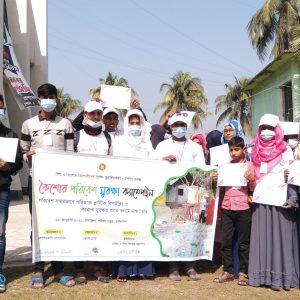 Little Citizens for Climate au Bangladesh : Campagne de protection de l'environnement des adolescents